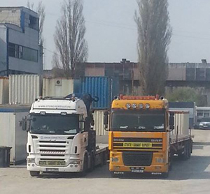 containere transport