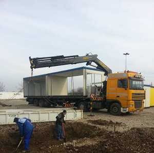 transport containere birou