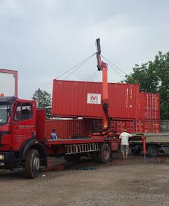 servicii de transport containere